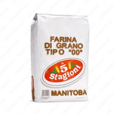 Мука из мягких сортов пшеницы типа 00 Манитоба le 5 Stagioni 10 кг