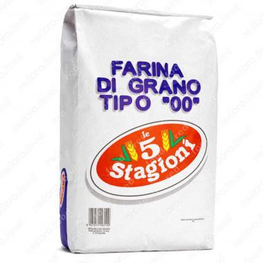 Мука из мягких сортов пшеницы типа 00 Супериоре le 5 Stagioni 25 кг
