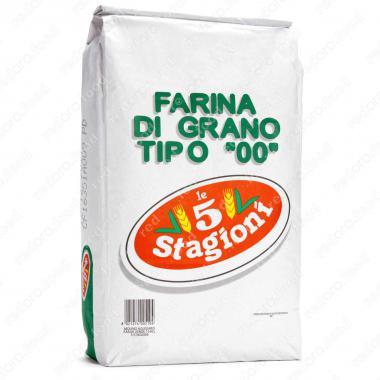 Мука из мягких сортов пшеницы типа 00 Усиленная le 5 Stagioni 25 кг