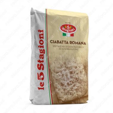 Смесь для чиабатты сухая Чиабатта Романа le 5 Stagioni 10 кг смесь для приготовления теста