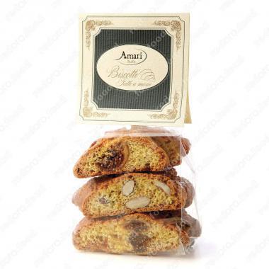 Кантуччини с инжиром и миндалем ручной работы Amari 200 г