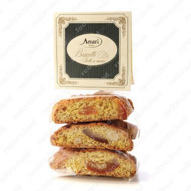 Кантуччини с апельсином и лесным орехом ручной работы Amari 200 г