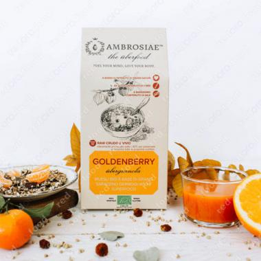 Гранола с Золотыми ягодами (типа мюсли) 250 г, БИО, Без Глютена, Веган, Ambrosiae