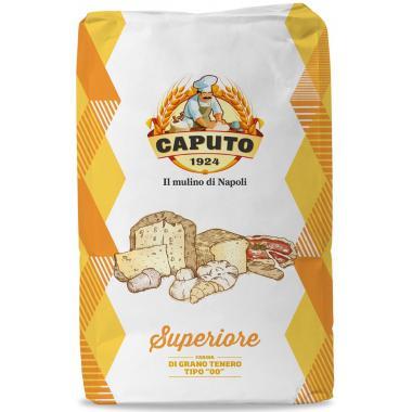 Мука из мягких сортов пшеницы тип 00 Супер Caputo 25 кг, W 240-260