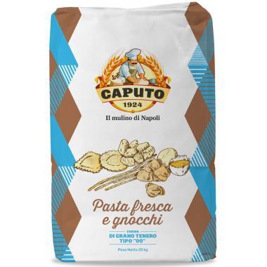 Мука из мягких сортов пшеницы тип 00 Паста Фреска Caputo 25 кг, W 260-280