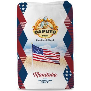 Мука из мягких сортов пшеницы тип 0 Манитоба Caputo 25 кг, W 360-380
