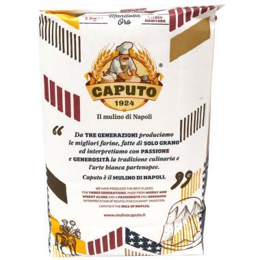 """Мука пшеничная мягких сортов Манитоба Оро """"0"""" 1 кг Caputo"""