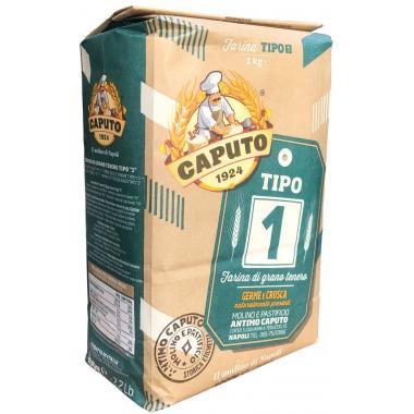 Мука пшеничная мягких сортов Тип 1 1 кг Caputo