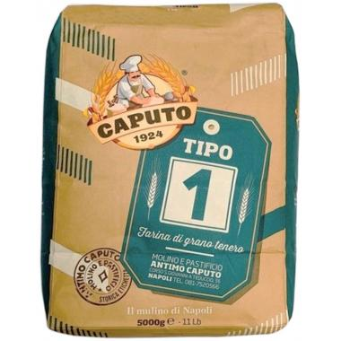Мука пшеничная мягких сортов Тип 1 5 кг Caputo