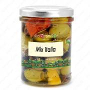 """Смесь оливок с перцем """"Италия"""" в масле 180 г"""