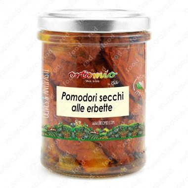 Сушеные помидоры с травами в масле Castellino 180 г