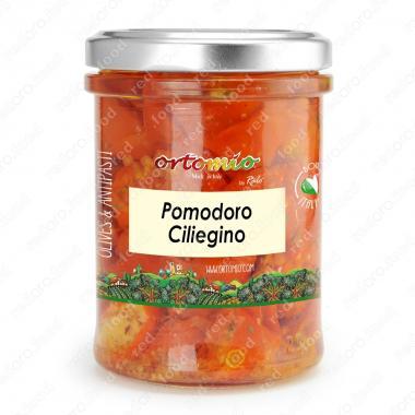 Полусушёные помидоры Черри в масле Castellino 180 г