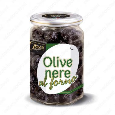 Оливки черные запеченные с косточкой Citres 190 г