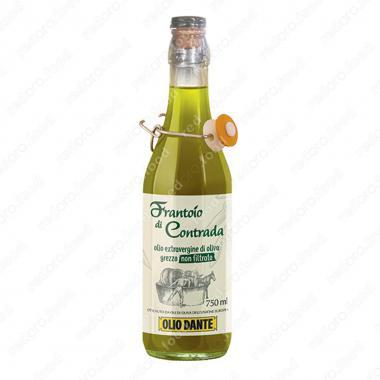 """Масло оливковое Extra Virgin """"Франтоио ди Контрада"""" нефильтрованное, нерафинированное Olio Dante 750 мл"""