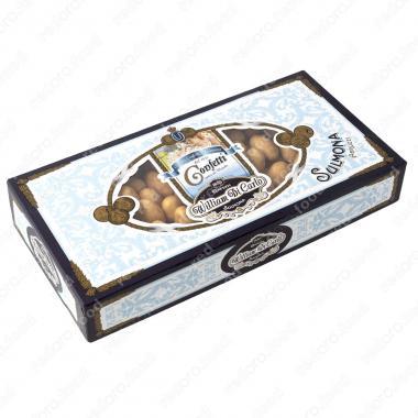 Конфеты Драже с миндалем в белом шоколаде весовые 1 кг Willam di Carlo