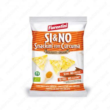 Кукурузные мини-хлебцы с куркумой БИО, Без Глютена Fiorentini 20 г