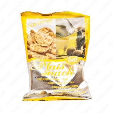 Кукурузные мини-хлебцы с оливковым маслом БИО Fiorentini 50 г