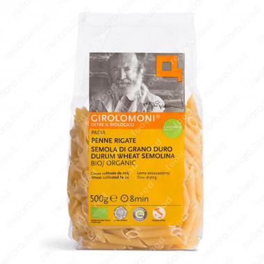 Макаронные изделия, паста из твердых сортов пшеницы пенне ригате БИО Girolomoni 500 г