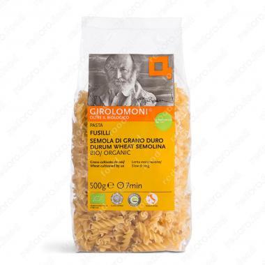 Макаронные изделия, паста из твердых сортов пшеницы фузилии БИО Girolomoni 500 г