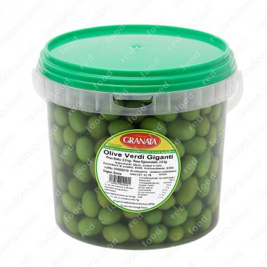 Оливки зеленые Гиганти 5,9 кг (3,5 кг оливок) Fior di Terra, Antonio Granata