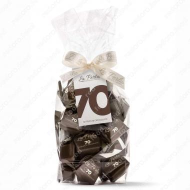 Конфеты шоколадные Трюфель с горьким шоколадом Без Глютена La Perla di Torino 200 г