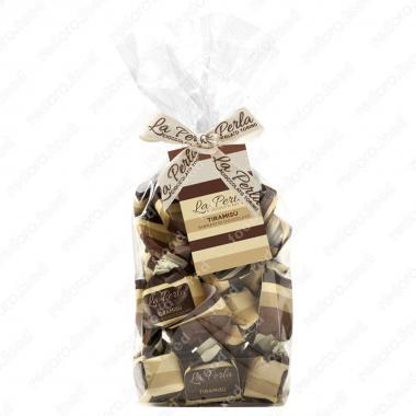 Конфеты шоколадные Трюфель Тирамису Без Глютена La Perla di Torino 200 г