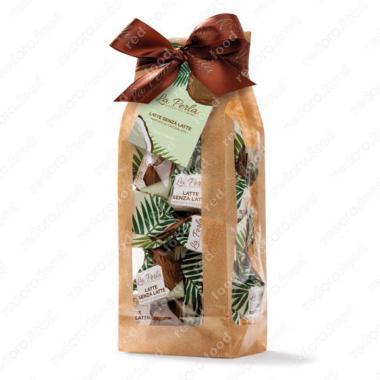 Конфеты шоколадные Трюфель с кокосовым молоком без лактозы Без Глютена La Perla di Torino 190 г
