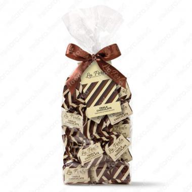 Конфеты шоколадные Трюфель Тройной шоколад Без Глютена La Perla di Torino 200 г