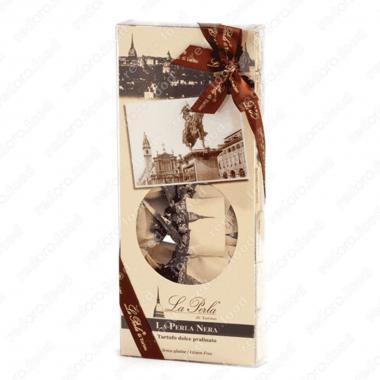 Конфеты шоколадные Трюфель Черная жемчужина в подарочной упаковке Без Глютена La Perla di Torino 210 г