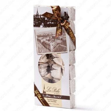 Конфеты шоколадные Трюфель Белая жемчужина в подарочной упаковке Без Глютена La Perla di Torino 210 г