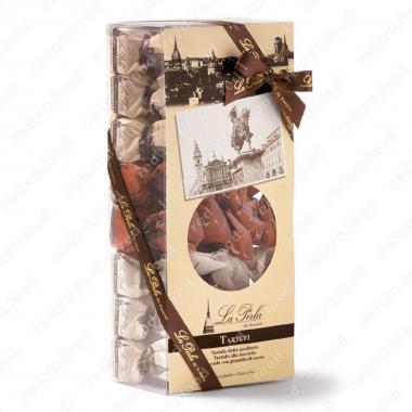 Конфеты шоколадные Ассорти из трюфелей в подарочной упаковке Без Глютена La Perla di Torino 600 г