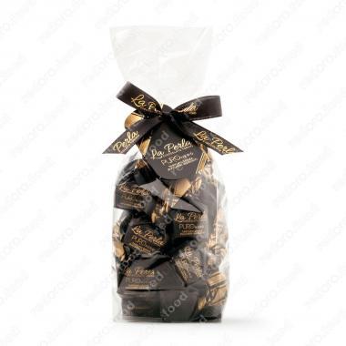 Конфеты шоколадные Трюфель Черный Без Глютена,без сахара La Perla Di Torino 200 г