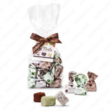 Конфеты шоколадные ассорти из трюфелей мини XS Без Глютена, La Perla Di Torino 190 г