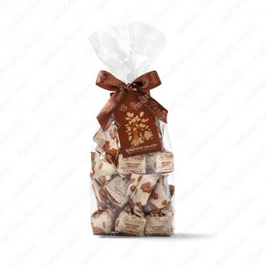 Конфеты шоколадные Трюфель Соленый Арахис 200 г La Perla Di Torino