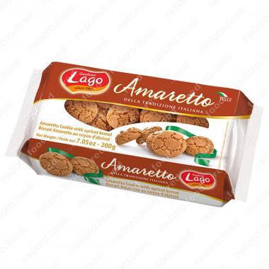 Печенье Амаретто миндальное Gastone Lago 200 г