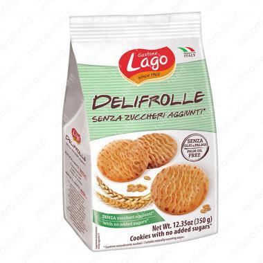 Печенье Делифролле без сахара Gastone Lago 350 г