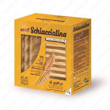 Хлебная Скьяччатина Классика La Molle 150 г