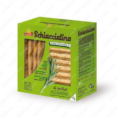 Хлебная Скьяччатина с Розмарином La Molle 150 г