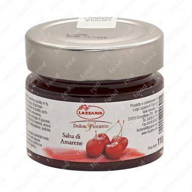Соус фруктовый из вишни Lazzaris 110 г