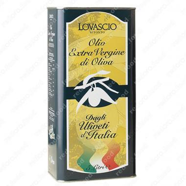 Масло оливковое э/в 100% Итальяно 5 л Lovascio, SAM