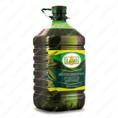 Масло оливковое extra virgin нерафинированное Luglio 5 л (ПЭТ)