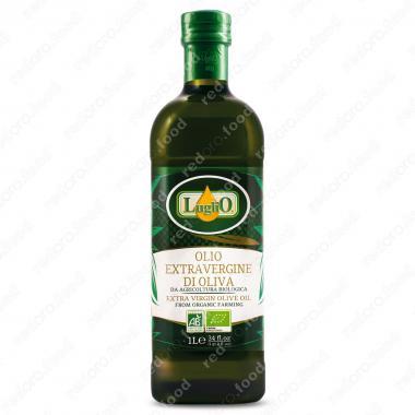 Масло оливковое extra virgin нерафинированное Organic Luglio 1 л