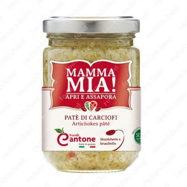 Соус Пате из артишоков 130 г, Mamma Mia