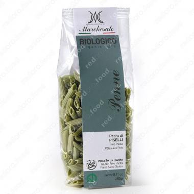 Паста из зелёного горошка Пенне 250 г Marchesato