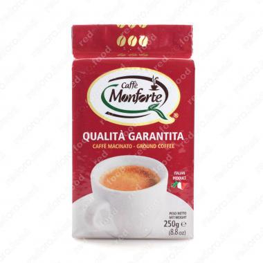 Кофе жареный, молотый «Монфорте» MonForte 250 г, тёмная обжарка
