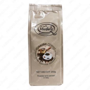 Кофе жареный, молотый «Турецкий» MonForte 250 г, тёмная обжарка