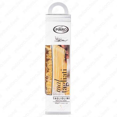 Яичные макаронные изделия ручной работы Тальолини в подарочной упаковке Pasta Pirro 500 г