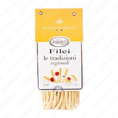 Макаронные изделия ручной работы из твердых сортов Филеи Pasta Pirro 500 г