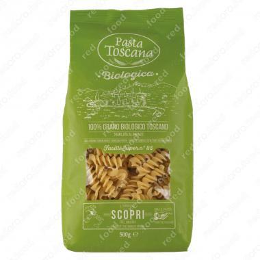 Паста Фузилли БИО 500 г Pasta Toscana