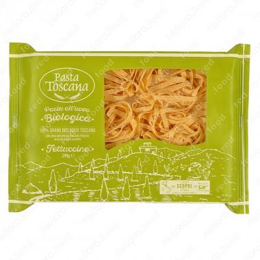 Паста содержащая яйца Феттучине БИО 250 г Pasta Toscana